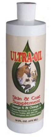 Ultra Oil Skin & Coat Supplement 16 Oz