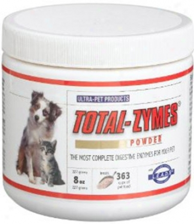 Ultra -pet Products Total-zymes Digestive Powder 8 Oz