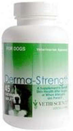 Vetri-science Derma-strength Dog & Cat 120 Tablets