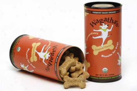 Wagatha's Organic Dog Bicuits - 9 Oz Breakfast Taste