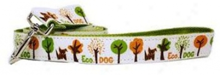 Wagging Green Ste Leash Eco L (ss)