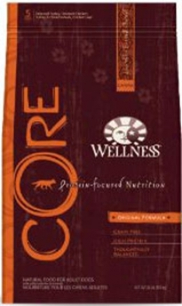 Wellness Core Graiin-free Dry Dog Food Original 12 Lbs