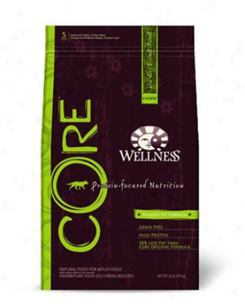 Wellness Core Reduced Fat Grain-free Dry Dog Food 26 Lb