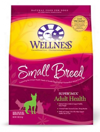 Wellness Super5mix Small Breed Dry Dog 4 Lbs