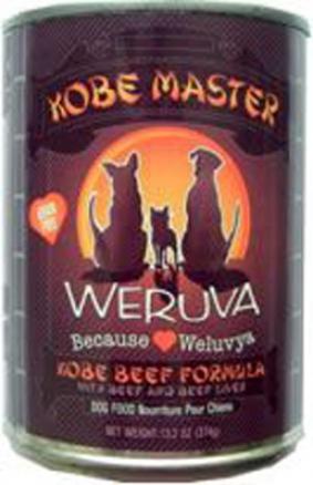Weruva Canned Dog Food Kobe Master 13.2 Oz