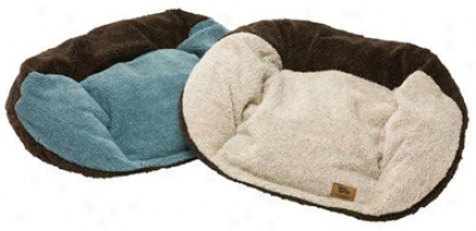 West Paw Tuckered Bed S Beach Glass/chocolate (ss)