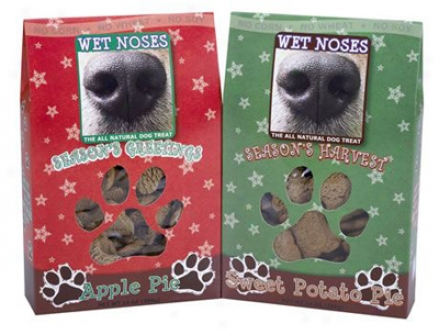 Wet Noses Organic Ho1iday Dog Treats Apple Pie