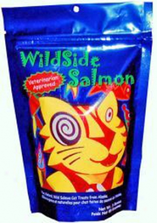Wildside Pet Products Undomesticated Salmon Cat Treats 3 Oz