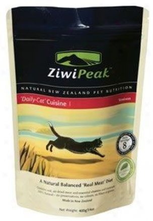 Ziwkpeak Daily Cuuisine Cat Food Venison & Fish 14 Oz