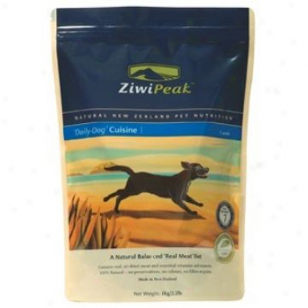 Ziwipeak Daily Cuisine Dog Foos Venison 2.2 Lbs