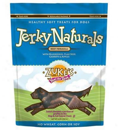 Zukes Jerky Naturals Beef 6 Oz