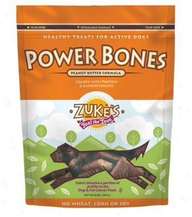 Zukes Powerbones Beef 6 Oz