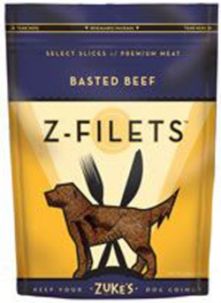 Zukes Z-filets Dog Treats Prime Venison 3 Oz