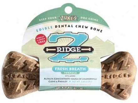 Zukes Z-ridge Chew Bone Carrot Middle
