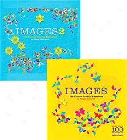 100 Ready-to-color Complex Geometric Shapes Images Book
