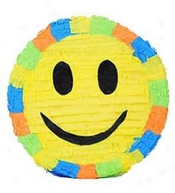 "15"" Colorful Smiley Face Pi??ata"