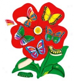 23-piece Oversized Butterfly Prime Puzzle