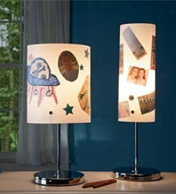"24""h Adorn Your Own Lamp"
