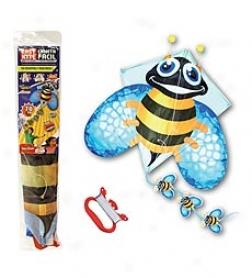 3-d Pop-up Bumblebee Diamond Kite