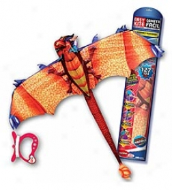 3-d Pop-up Dragon Kite