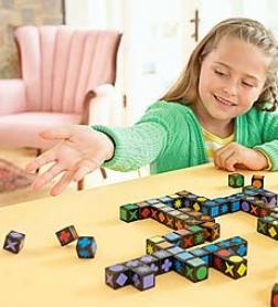 3-d Qwirkle Game Cubes
