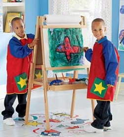 Grow-aith-me Adjustable Art Easel