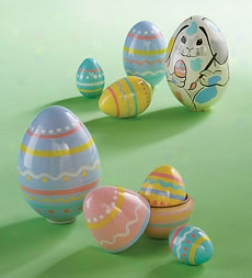 Festive Trims Nesting Egg