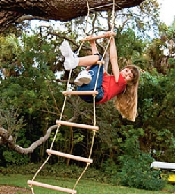 6' Indoor/outdoor Sturddy Rope Ladder