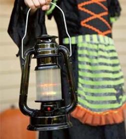 "9"" Batrery Operated Spooky Led Lantern"