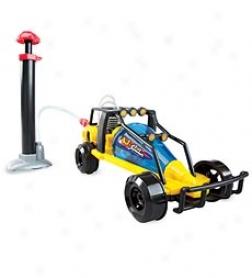 Air-powered Air Jammer Turbo Car