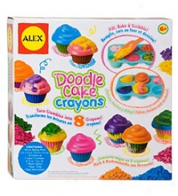 Alex Doodle Cake Crayons Set