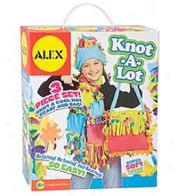 Alex Toys 3-piece Set Knot-a-lot Craft Kit
