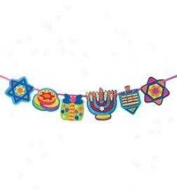 Alex Toys Felt Chanukah Banner Craft Kit