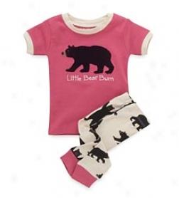 Baby Bwar Pink Pajamas