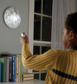 Battery Powered Moon In My Room™ With Remote Control