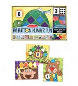 Big Button Number Fun Activitty Set