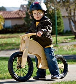 Birch Wood Adjustable Balance Bike