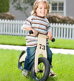 Birch Wood Balance Bike