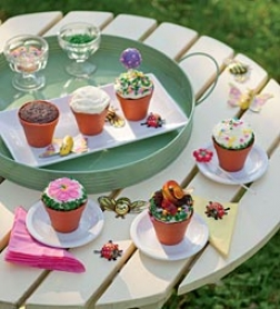 Blooming Flowerpot Cupcake Kit