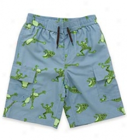 Boys' Northern Leopard Frog Swim Trunks