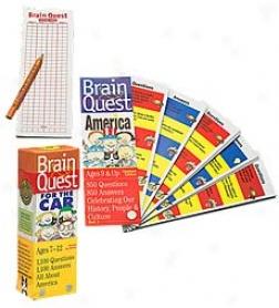 Brainquest Knowledge Trivoa Game
