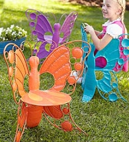 """Butterfly Chair24-1/2""""h X 21""""w X 15""""d"""