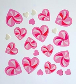 Candy Swirl Hearts Gelgems®