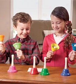 Child-sized Hand Bells, Set Of 8