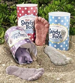 Colorful Sandy Foot Casting Kit