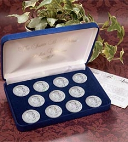 Finish Susan B. Anthony Dollar Coin Collector Set