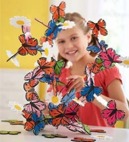 Connectagons?? Butterflies And Flowers Building Set