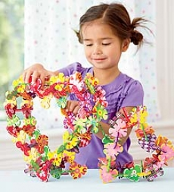 120-piece Connectagons Heart-to-heart Constructive Building Set