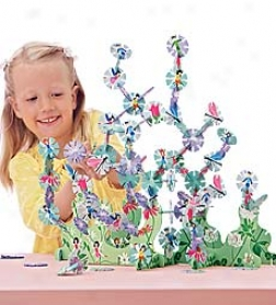 Connectagonz Fairy Garden Constructive Building Set