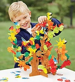 Connectagons Treetop Constructive Building Set Special With Storage Bag